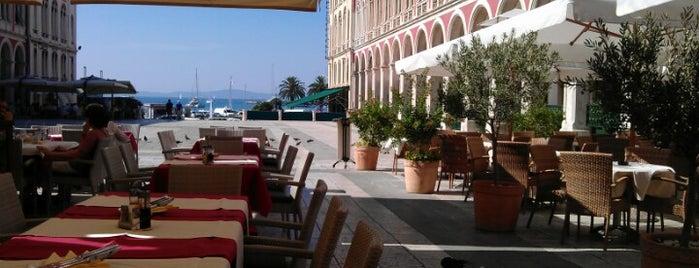 Caffe-restoran Bajamonti is one of Janete 님이 좋아한 장소.