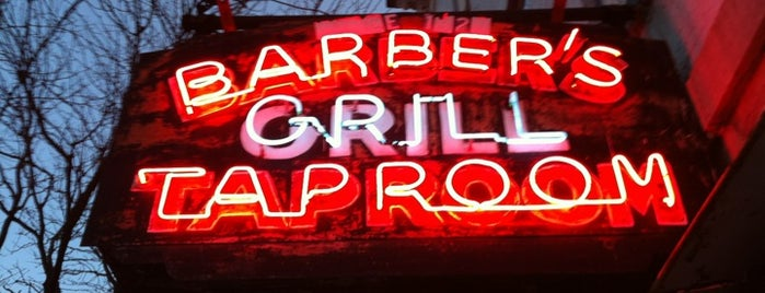 Barbers Grill And Taproom is one of Upstate.