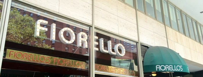 Cafe Fiorello is one of Nolfo NYC Foodie Spots.
