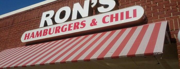 Ron's Hamburgers & Chili is one of GLM.