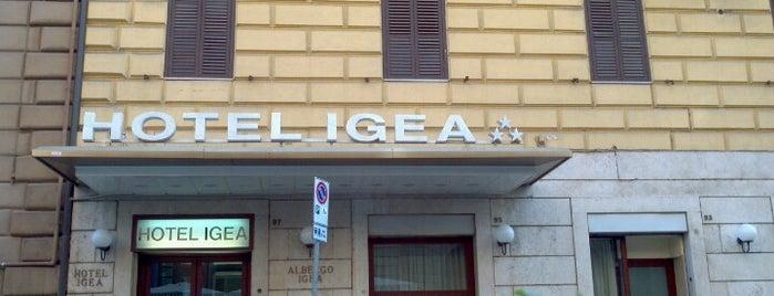Hotel Igea is one of Vlad'ın Beğendiği Mekanlar.