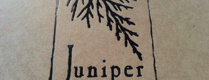 Juniper Restaurant is one of beaver creek.