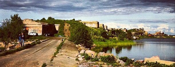 Форт 1-й Северный is one of Интересное в Питере.