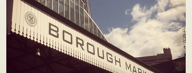 Borough Market is one of London Essentials.
