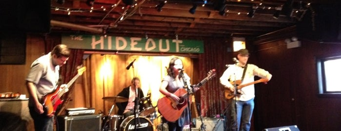 The Hideout is one of Chicago music.