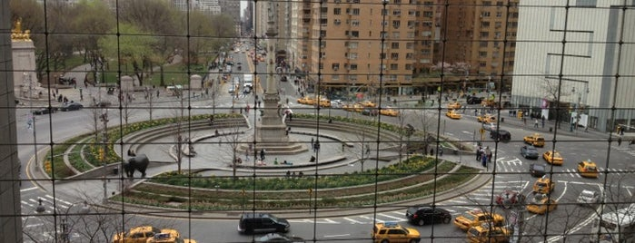 The Shops at Columbus Circle is one of Tempat yang Disukai Sandra.