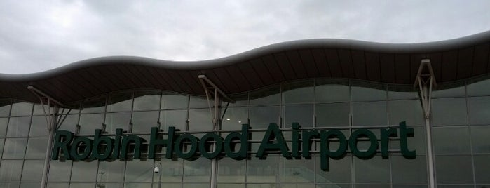 Robin Hood Airport (DSA) is one of Airports.