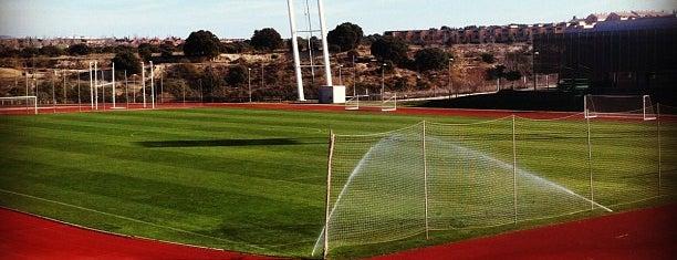 Ciudad del Fútbol de Las Rozas (RFEF) is one of The Great Football Pilgrimage.