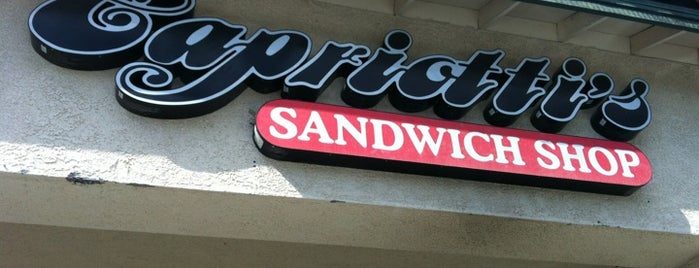 Capriotti's Sandwich Shop is one of Nateさんのお気に入りスポット.