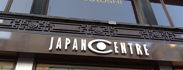 Japan Centre is one of London shopping..