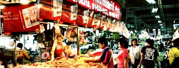 Huay Khwang Market is one of Bangkok Food.