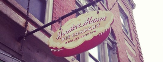 Hoosier Mama Pie Co. is one of Locais salvos de Justin.