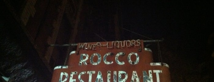 Rocco's Restaurant is one of good eats.