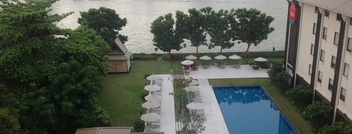 Ibis Bangkok Riverside is one of Roberto'nun Beğendiği Mekanlar.