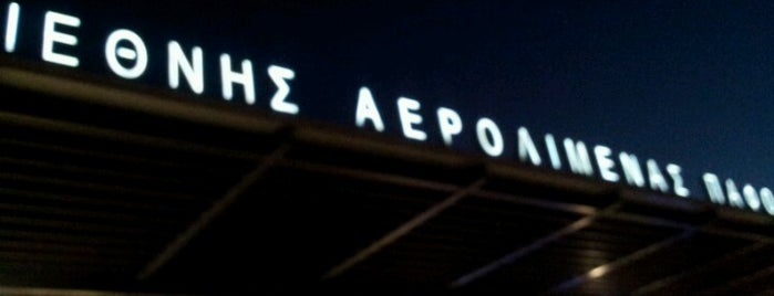 Paphos International Airport (PFO) is one of Visited Airports around the world.