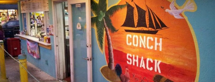 Conch Shack is one of Mike-a-ritaville.
