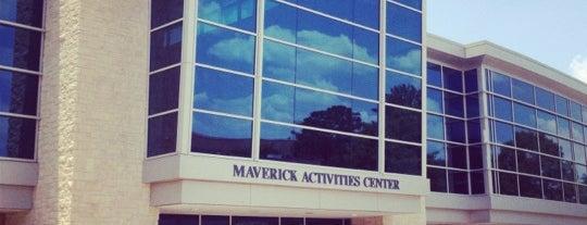 Maverick Activities Center is one of Arlington.