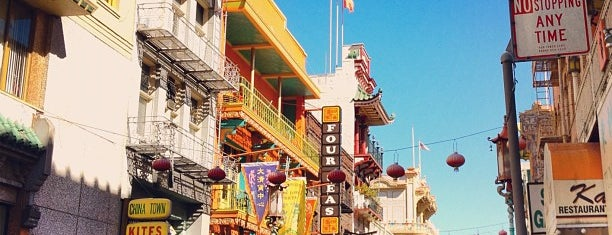 Chinatown is one of San Francisco!.