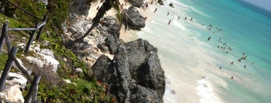 Tulum Beach is one of Beautiful places.