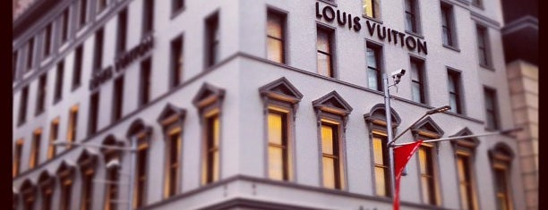 Louis Vuitton is one of Sydney.