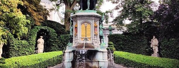 Place du Petit Sablon is one of BXL to do.