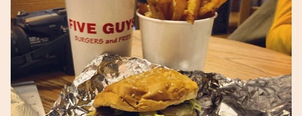 Five Guys is one of OMB - Oh My Burger !.