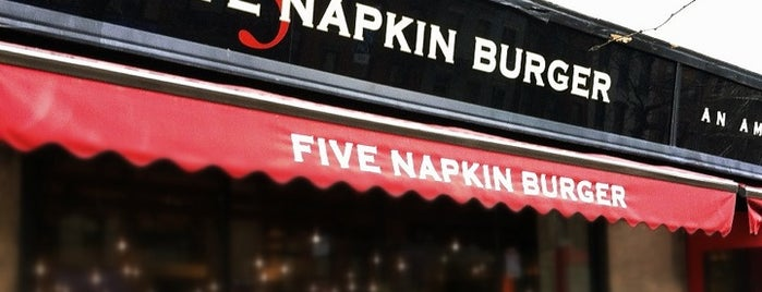 5 Napkin Burger is one of New York.