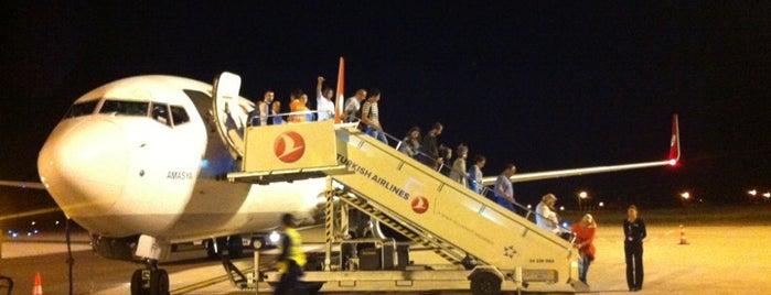 Amasya Merzifon Havalimanı (MZH) is one of Airports in Turkey.