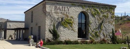 Baily Vineyard & Winery is one of Posti che sono piaciuti a Todd.
