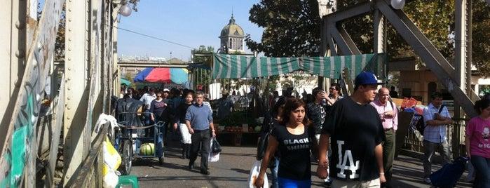 Puente Peatonal Los Carros is one of Lugares, plazas y barrios de Santiago de Chile.