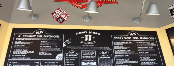 Jimmy John's is one of Locais curtidos por Ron.