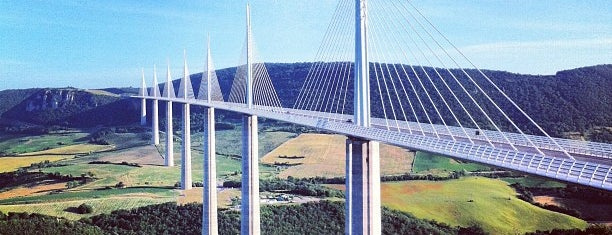 Viadotto di Millau is one of Aus, Bel, Fra, Ger, Ita & Swi.