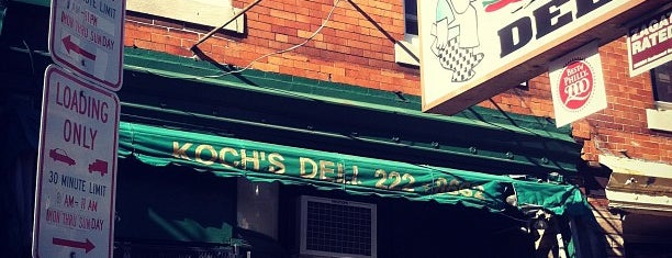 Koch's Deli is one of Joe 님이 저장한 장소.