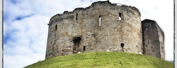 Clifford's Tower is one of York.
