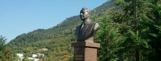 Haydar Aliyev Parkı is one of Lieux qui ont plu à Sedat.