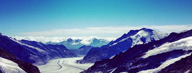 Jungfraujoch is one of Suiça - onde ir.