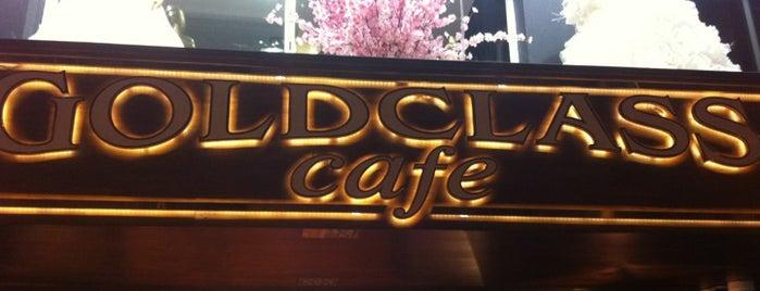 Gold Class Cafe is one of Tempat yang Disukai Alp Gökçe.