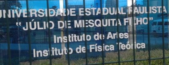 Instituto de Artes da UNESP is one of Tempat yang Disimpan Clovis.