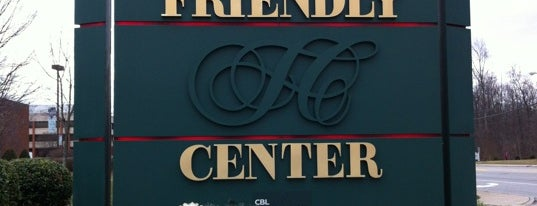 Friendly Shopping Center is one of Greensboro.