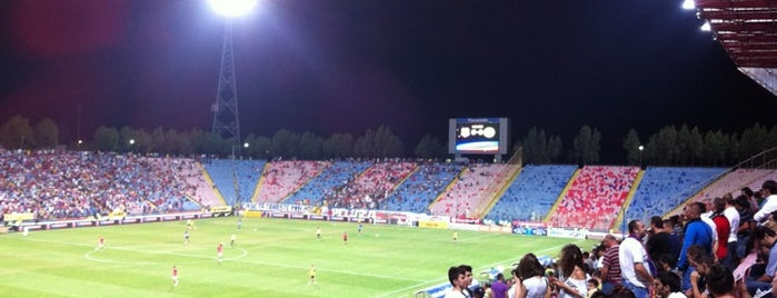 Stadionul STEAUA is one of Jumpin jumpin.