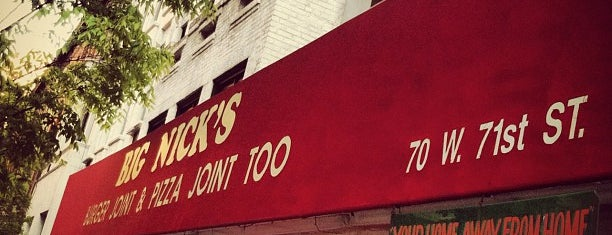 Big Nick's Burger & Pizza Joint Too is one of New York Eats.