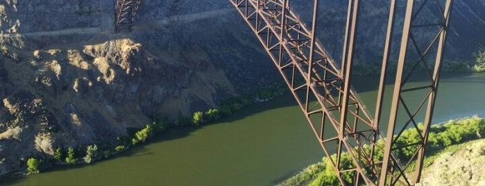 Perrine Bridge is one of Awesome sounding places other people go.