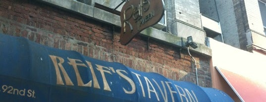 Reif's Tavern is one of NYC Upper East Side Eats.