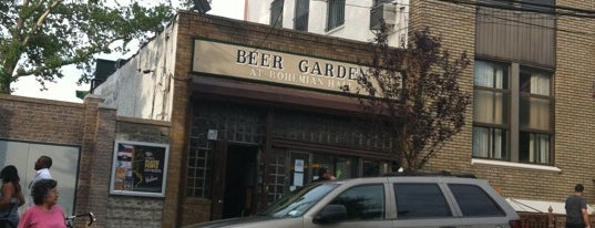 Bohemian Hall & Beer Garden is one of The Good, the Bad, the Ugly and Whatever's Yummy..