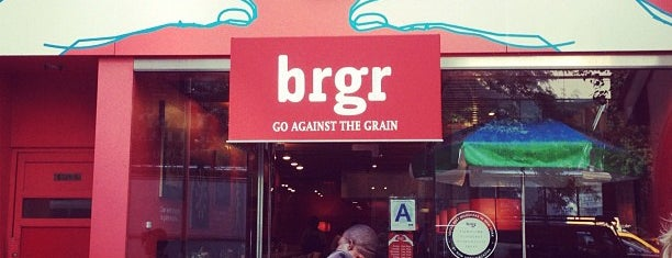 brgr is one of Lugares favoritos de Explora.