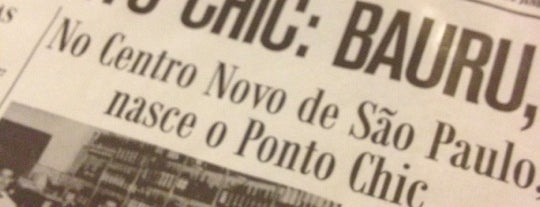 Ponto Chic is one of Pubs e butecos (talves alguns bares tbm).