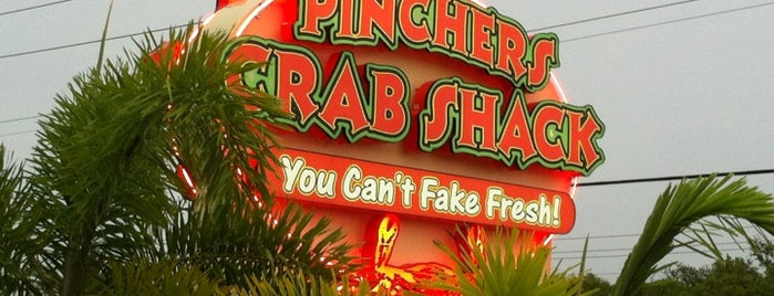 Pincher's Crab Shack is one of Lugares favoritos de Kate.