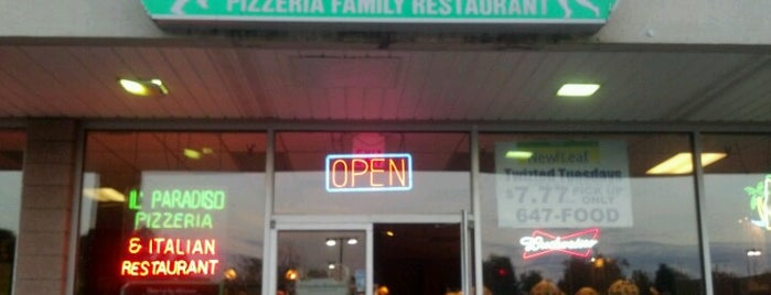 Il Paradiso Pizza and Restaurant is one of Ellenville, NY.