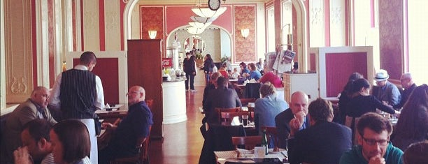 Café Louvre is one of Praga Healthy Restaurants.