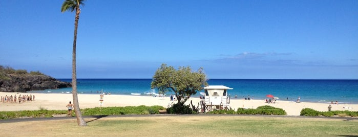 Hāpuna Beach State Recreation Area is one of Hawai'i 4th of July.